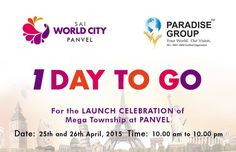 The excitement is building up. Only 24 hours to go!  Stay tuned.   For more information, visit www.paradisegroup.co.in