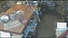 Surveillance video from a store in Gilford, N., has many people spooked. I can use my Ghost Hunting Kit!