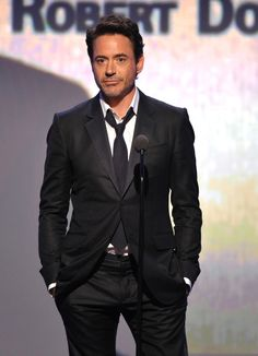 Robert Downey Jr. Oh my good Lord.