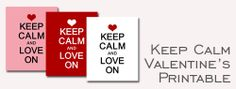keep-calm-and-love-on_banner - all sorts of printables
