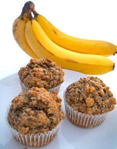 Brooke Bakes : Whole Wheat, Nuts & Seeds Banana Muffins