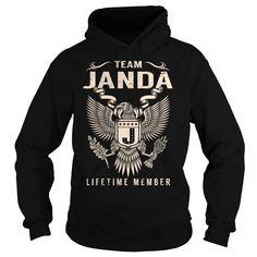 Team JANDA Lifetime Member - Last Name, Surname T-Shirt
