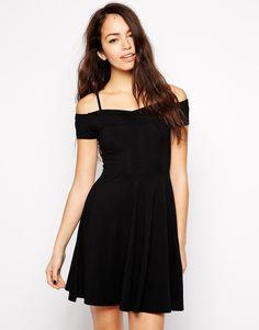 New Look Off The Shoulder Skater Dress