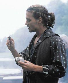 Johnny Depp in Chocolat.  I just love that movie.