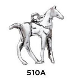 Colt 3D Charm - Sterling Silver Pony
