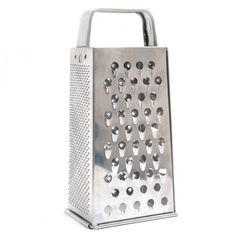 Jacob Bromwell World Famous Grater, Silver stainless steel (Metal)