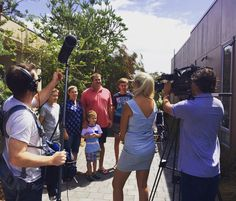 A little sneak peek at some filming by @acurrentaffair9 yesterday...make sure you check us out in the feature about Australian caravan parks tomorrow night at 7.00pm on @channel9  #big4beaconresort #acurrentaffair  @big4holidayparks by big4beaconresort http://ift.tt/1JO3Y6G