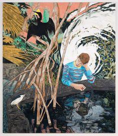 Hernan Bas at Fredric Snitzer Gallery.