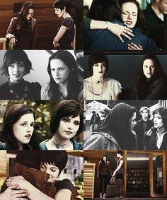 'The Twilight Saga breaking dawn part - Bella Alice. Twilight Film, Twilight Pictures, Twilight New Moon, Vampire Twilight, Twilight Wedding, Alice Cullen, The Cullen, Alice And Jasper, Edward Bella