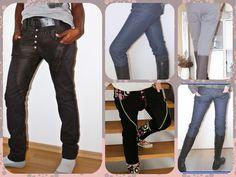 """Jacke """"Noordwijk"""" + Hose """"Girlfriend"""" 40-50 von Schnittherzchen auf DaWanda.com Trends, Pants, Fashion, Sewing Patterns, Tutorials, Jackets, Nice Asses, Trouser Pants, Moda"""