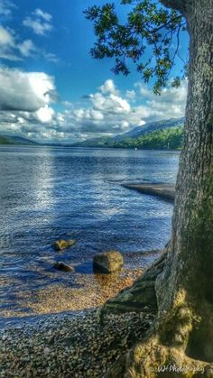 Loch Lomond, Scotland. Shows the potential of Scottish nature and is a fine example of ecotourism.
