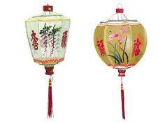 Hand Painted Lantern Lampion, Summer Chinese Lantern Lampion Decoration...