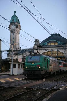 Electric Locomotive . Gare de Limoges