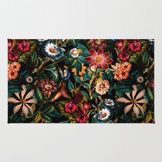 Check out society6curated.com for more! I am a part of the society6 curators program and each purchase through these links will help out myself and other artists. Thanks for looking! @society6 #society6 #floral #flowers #floralpattern #botanical #beautiful #pretty #nature #homesweethome #homedecor #apartment #dorm #apartmentgoals #rugs #rug #carpet #buy #shop #buyart #artforsale #decorate #decor #decoration #cool #pink #red #orange #green #black #white #color #colorful #vibrant #colors…