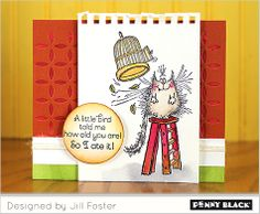 Krafty Kats stamps by Penny Black