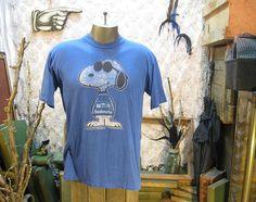 70s Snoopy Joe Cool T shirt Vintage Seahawks football shirt