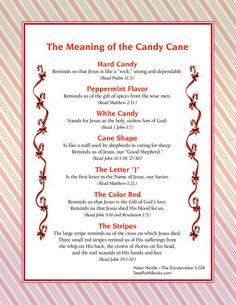 The Christmas Candy Cane! - Spiritual Symbolism - Enjoy with Troy! Holiday, Christmas Poems, Christmas Decorations, Christmas Play, Gifts, Christmas Candy, Christmas Holidays, Christmas Gifts, Christmas Time