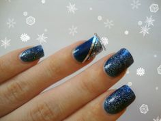 Crissie's Mind: Getting Ready For Christmas #5: Blue and Silver