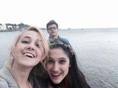Twitter: Mechilambre   16/3/14 Cadaques con @Lodovica Comello♥ @Jorge Blanco  más lindo imposible!!!