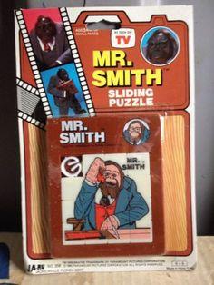 Mr smith 80s tv show slide puzzle orangutan 1983 paramount nbc game