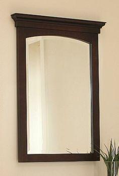 The Allure vanity collection mirror | Sagehill Designs