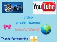 Primo video presentazione del canale! Link video: https://youtu.be/BKdjEFoKF-M
