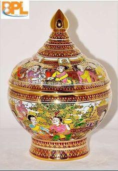 Thai Benjarong Prayakul Bowl - Buy Porcelain,Bowl,Gift Product on ...