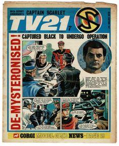 Sci Fi Tv, Classic Comics, Old Tv, Scarlet, Nostalgia, Comic Books, Dandy, British, Space