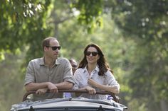 Kate Middleton and Prince William Go on a Safari, Feed Baby Elephants and Rhinos in India
