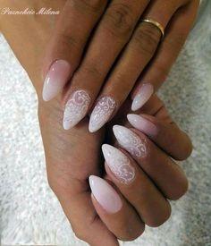 30 Wedding Nail Art For Brides Ideas - Kornelia Beauty French Nails, Bride Nails, Wedding Nails Design, Nail Wedding, Nagel Gel, Perfect Nails, Beauty Nails, Pretty Nails, My Nails