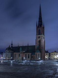 Riddarholmskyrkan, 12th century Church is oldest standing building in Stockholm, Sweden by Hans Åström on 500px
