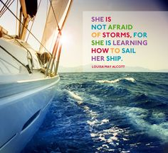 Life is the wind, we are captains, and dreams are sails. #CarryOnWarrior #Momastery  http://momastery.com/blog/
