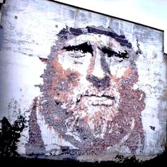 One of the top street artists today- @vhils Alexandre Farto (aka Vhils), a Portuguese urban artist who has catapulted to fame in the world…