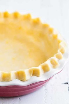 Foolproof all-butter pie crust recipe with tips and tricks on how to store/freeze, blind bake and how to avoid annoying shrinking issues.