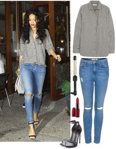 """""""Rihanna: Out"""" by maggie3x on Polyvore"""