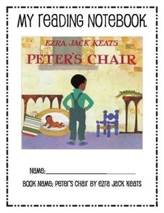 A list of picture books to teach social studies over 70 pages of peters chair reading notebook fandeluxe Choice Image