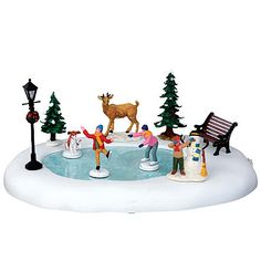 Lemax Village : Fire House: @ Sears | Christmas Village ...
