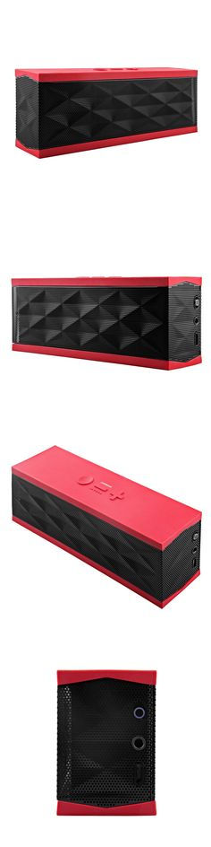 Other Portable Audio: Jawbone Jambox Black/Red Limited Edition Original Bluetooth Portable Speaker -> BUY IT NOW ONLY: $99.95 on eBay!