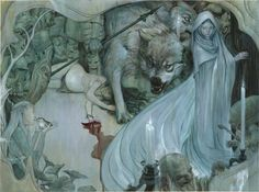 illustration for Fables by James Jean