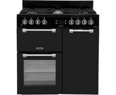Leisure Cookmaster CK90F232K 90cm Dual Fuel Range Cooker - Black