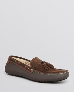 Hudson H By Florio Suede Tassel Driving Loafers. Sold by Bloomingdale's.