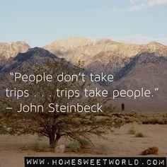 John Steinbeck | HOME SWEET WORLD
