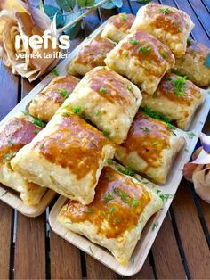 Sebzeli Çıtır Çıtır Börek – Nefis Yemek Tarifleri – Vegan yemek tarifleri – Las recetas más prácticas y fáciles Pastry Recipes, Gourmet Recipes, Vegan Recipes, Delicious Recipes, Cookie Recipes, Mushroom Recipes, Vegetable Recipes, Food Wishes, Comfort Food