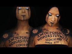 Ouija/Spirit Board Makeup Tutorial | Halloween 2016 - YouTube Love it ❤❤❤