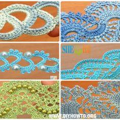 Crochet Tape Free Patterns & Tutorials