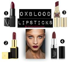 Oxblood #Lipstick Trend for fall/winter 2013 #makeup #trend