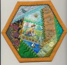 Viv's Crazy Quilting Journey