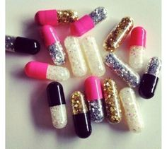 Glitter emergency kit. I say open and toss for mini celebrations!!! Cute if a patient looses a tooth or an adult is having a bad day...... Serve them a glitter chill pill and toss-- no doubt it can change that appointment!!!!