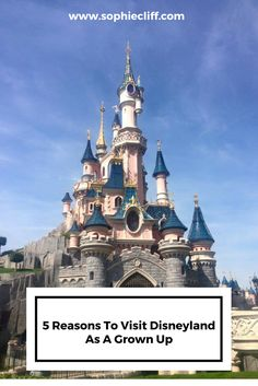 5 Reasons To Visit Disneyland As A Grown Up. It's not just for kids - here's an adults guide to Disneyland! Repin to read later.