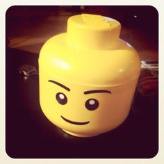Lego cookie jar